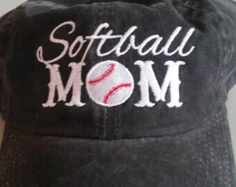 Softball Mom Hats