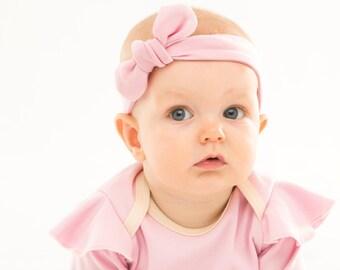 sale /Organic baby headband, Pink, HB195