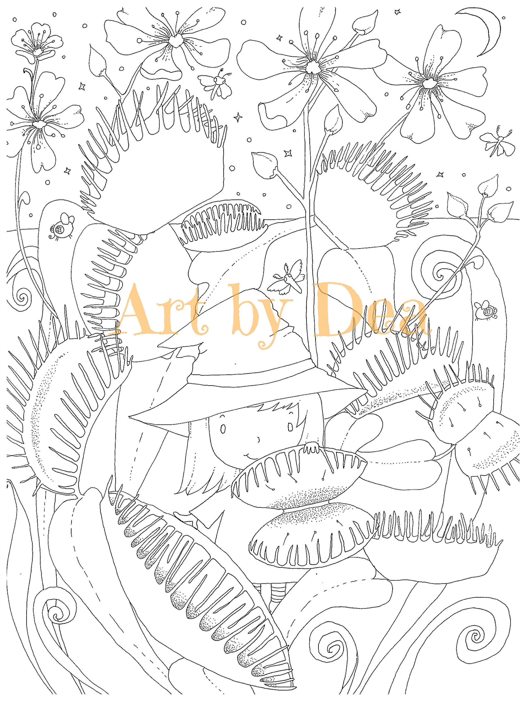 PENELOPES Garten Venusfliegenfalle digitaler Download PDF