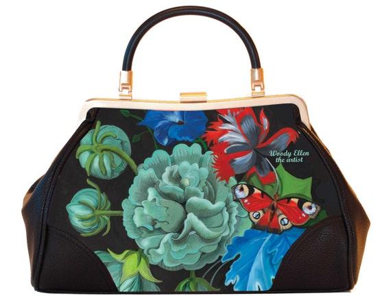 Retro handbag,vintage handbag,Burlesque,christmas,gifts,gifts for her,gifts for mom,Woody Ellen handbag,christmas gifts,christmas gift ideas
