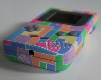 Custom Tetris game boy