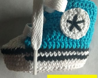 NEW 100% COTTON Booties type all star converse