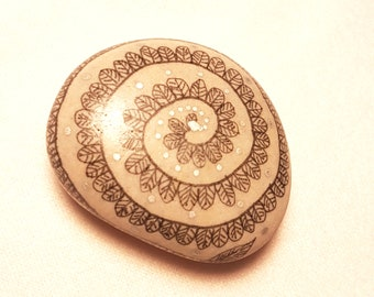 Decorated with Chinese ink stone