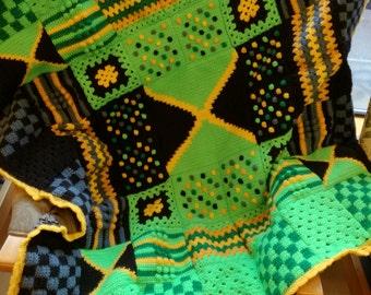 Custom designed Crochet Lap Blanket