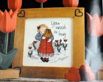 You Need a Hug Cross Stitch Pattern