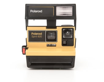 Super RARE Yellow POLAROID Spirit 600 - Film Tested and In Working Condition Special Limited Edition Instant Polaroid Camera