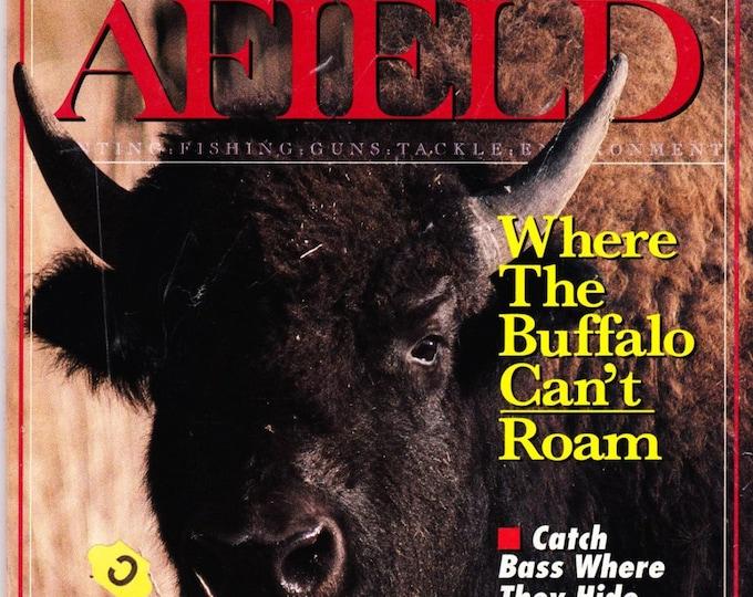 Vintage Sports Afield Magazine June 1991