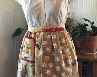 Women's aprons half apron