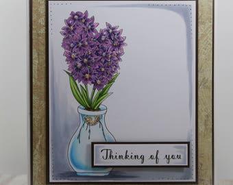 Hyacinth blooms Digi