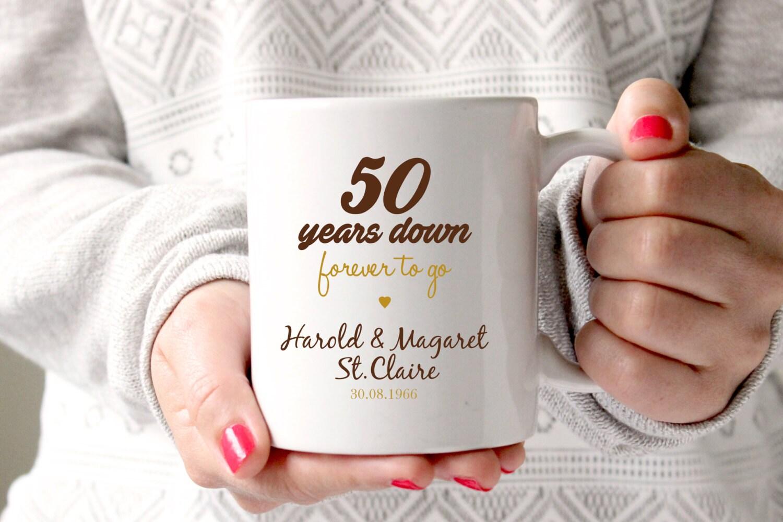 50. Jahrestagsgeschenk 50. Hochzeitstag 50. Jubiläum 50