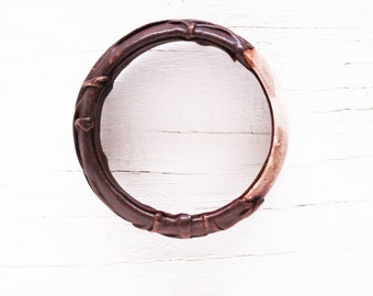 Vintage Genuine Leather Artisan Bracelet