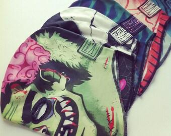 Set of 4 Monster Masks (100% Organic Cotton Knit)