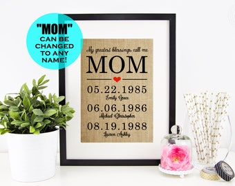 Mothers Day Gift, Mothers Day from Daughter, Mother's Day Gift Idea | Mother Daughter Gift | Mother of the Bride Gift | Mothers Day from Son