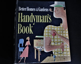 Home repair book etsy handymans book manly man book do it yourself book instructional book workshop solutioingenieria Image collections