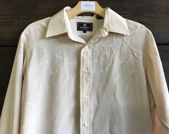 Vintage 80s Givenchy Button-Up Shirt