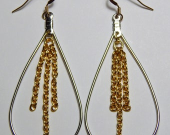 14k Gold Filled Earwires with Tear Drops