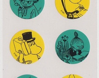 Moomin Stickers - Reference A3548A3700-01