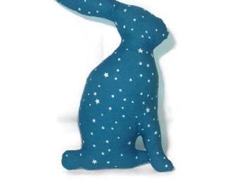 Star blue rabbit comforter