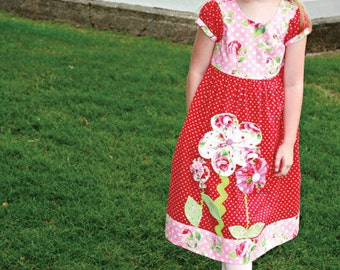 francie dress and jumper pattern by marie-madeline studio (M082)