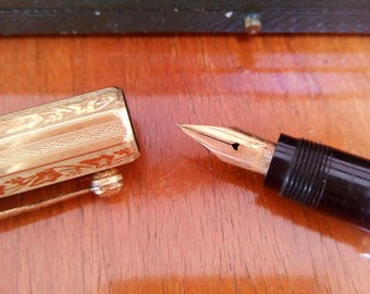 Waterman's Ideal Fountain Pen, vintage piece from the 1920-30s
