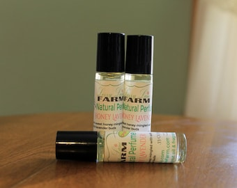 Honey Lavender Personal Perfume Oil- Alcohol Free, Organic Perfume Oil, Roll on Perfume Oil,
