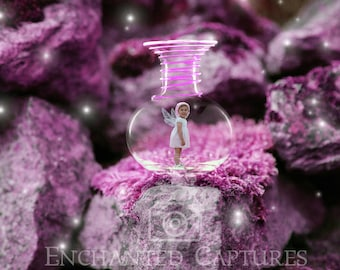 Fairy in a bottle, digital download, fairy photoshop template scene, Fairy template, childrens backdrop. Fantasy