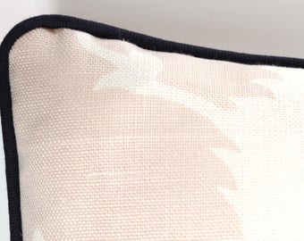 Add Your Own Piping to any Pillow Cover