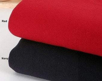 Franse zware Terry Knit stof in 2 kleuren door de werf