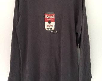 90s Andy Warhol Pop Art Shirt Medium