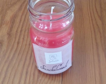 Sandalwood Scented Container Candle