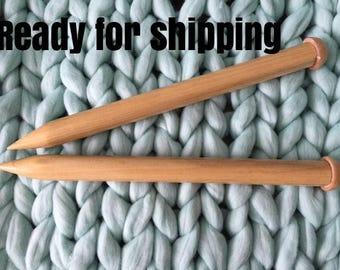 Giant Knitting Needles, Big Wooden Knitting Needles, Big Knitting Needles