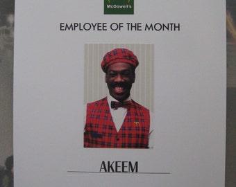 Coming to America - Akeem Employee Poster - Eddie Murphy - B3G1F