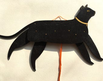 Cat puppet - Mr Tibbs