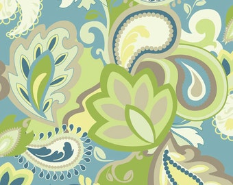 Vintae Main Green by Riley Blake Designs - C3600-Green - Sold by the Yard
