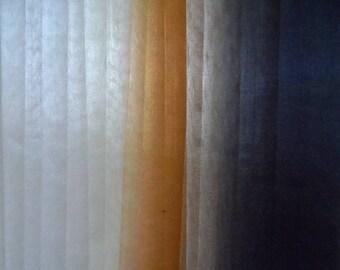 set of 15 cut organza 20 x 12 cm