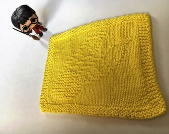 PDF Pattern - Harry Potter: Golden Snitch Dishcloth/Washcloth