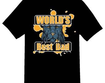 World's Best Dad Tee Shirt 08162017