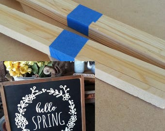 """Kit for Hello Spring sign - 20"""" x 20"""""""