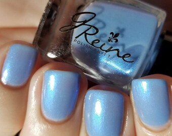 Frostbitten - blue shimmer Nail Polish