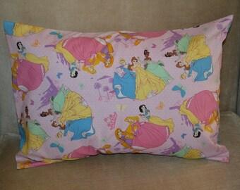 Travel Pillow Case / Child Pillow Case Various DISNEY PRINCESS / Snow White / Cinderella