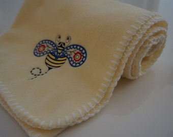 Bumble Bee Baby Blanket