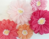 Tissue Paper Flowers, wedding backdrop, first birthday party, flower wall, unique wedding decorations, paper flower wall, cheap wedding idea