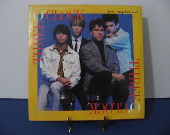Three O'Clock - Love Explosion - Maxi Single -  Circa 1988