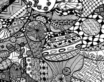 3 Digital Colouring Pages #6