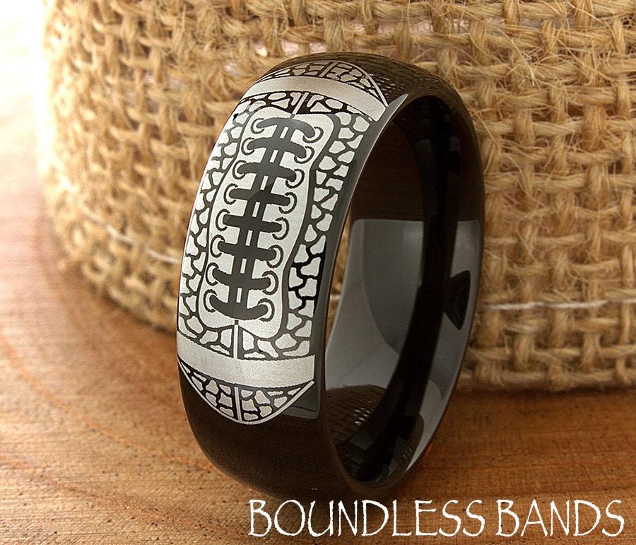 zoom - Sports Wedding Rings