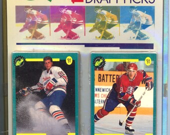 Classic 1991 Hockey Draft Picks Set MINT Factory Sealed 50 Cards