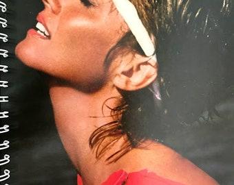 for the Olivia Newton-John -Let's Get  Physical -70s 80s musical MTV fan /Album Cover Notebook /rare Vinyl!
