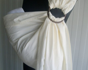 Baby Sling Ring ,Baby Carrier, Sling,Baby Wrap, Baby Sling,Gift,Еcru,Cream color, xmas gift ,christmas