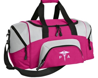 Physical Therapy Assistant Duffel Bag /Physical Therapy Assistant Caduceus Gym Bag /Physical Therapy Assistant Appreciation Gift - PRN-038B