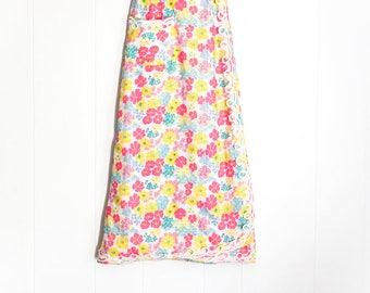 Lilly Pulitzer Skirt - Vintage Lilly Pulitzer - Designer Vintage - Maxi Skirt - Wrap Skirt Maxi - Long Skirts for Women - Boho Skirt - Rare